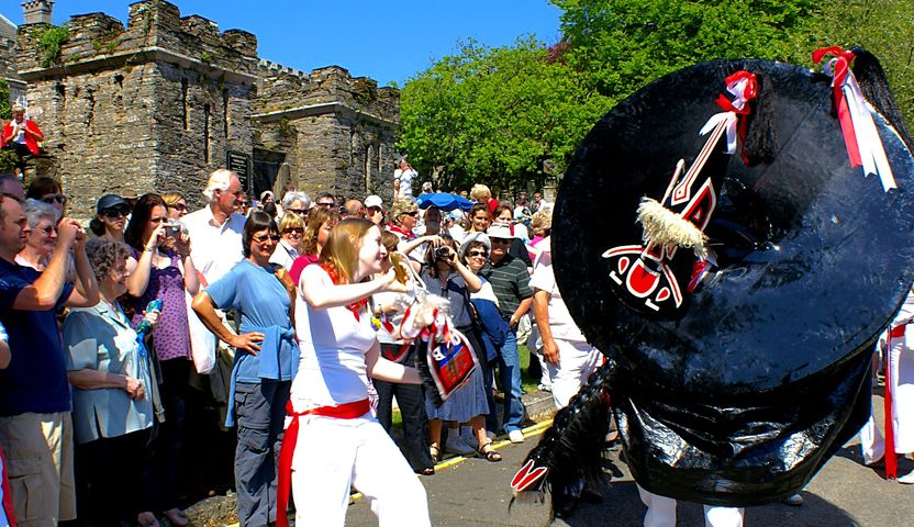 Padstow United Kingdom  city images : padstow obby oss padstow united kingdom